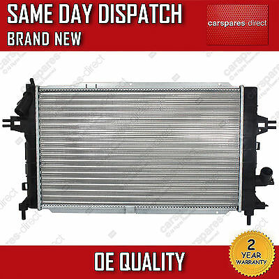 VAUXHALL ASTRA H 1.7 CDTI MANUAL RADIATOR 2004>ONWARDS 2 YEAR WARRANTY BRAND NEW