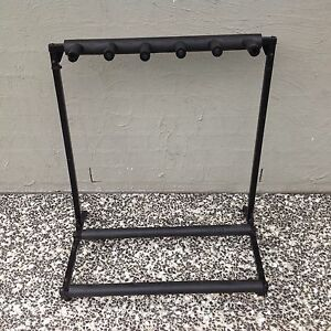 FIVE GUITAR STAND USED FOLDABLE Wonglepong Ipswich South Preview