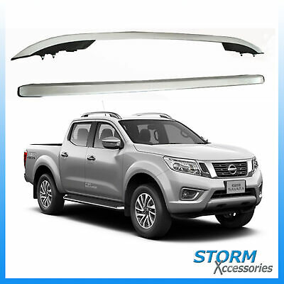 UKB4C Locking Roof Rack Cross Bars fits Nissan Navara 2016-2017 4 door