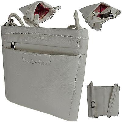 Damen Tasche Umhängetasche Kleine Schultertasche Beutel Freizeit-shopper Weiß 0