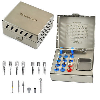 Bone Compression Kit Surgical Implant Dental Surgery Instruments Free Shipping