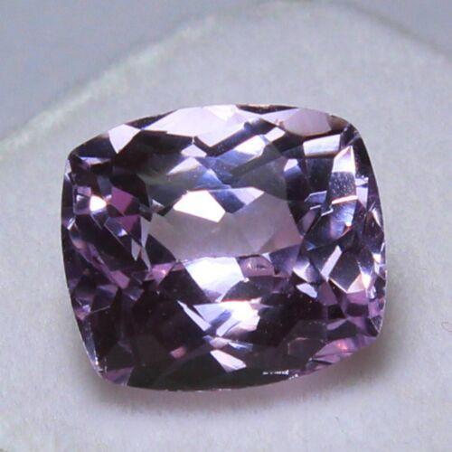 Natural 7.05 Ct Certified Unheated Brazil Pink Kunzite Loose Gemstones 11x10 mm
