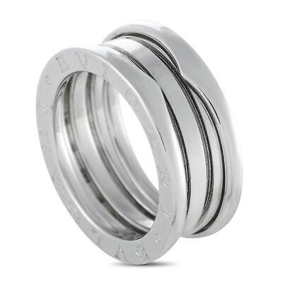 Bvlgari B.zero1 18K White Gold 3-Band Ring