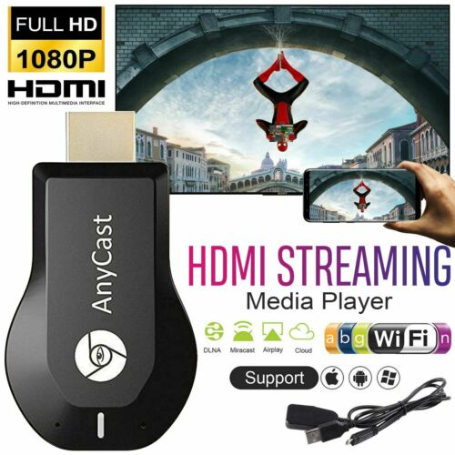 US Wireless WiFi Display Dongle 1080P HDMI TV Stick DLNA Aircast Miracast