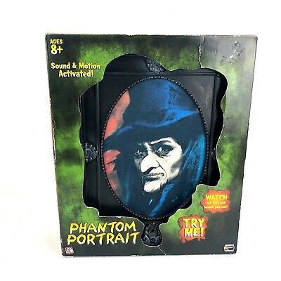 Gemmy Phantom Portrait Animated Sound Framed Halloween Haunted Figure in Box (Halloween Portrait)