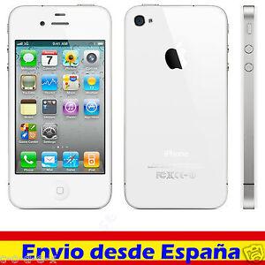 Telefono-Movil-Original-Apple-iPhone-4S-BLANCO-16GB-Libre-Nuevo-OUTLET