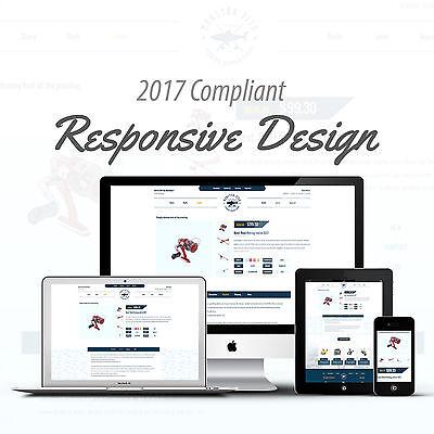 2017 Compliant Premium Responsive Ebay Auction Listing Template Fishing Design