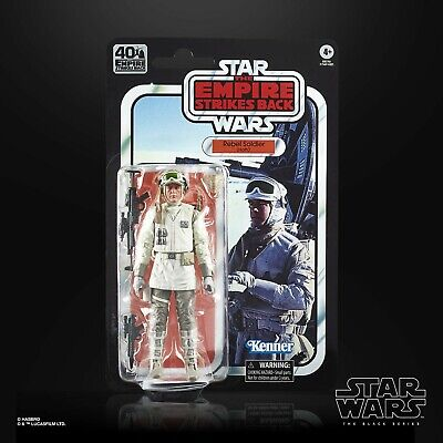 Star Wars Black Series 40th Anniversary Wave 2: Hoth Rebel Soldier (Ep. 5 The Em