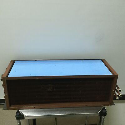 Heat Exchanger Water Air 68.5 Lb 34x10.5 Fins 1 Npt To 3x 12 Npt