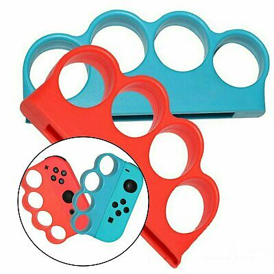 1 Pair For Switch Fitness Boxing Finger Clasp Hand Grip Handle Boxing Game Video Games