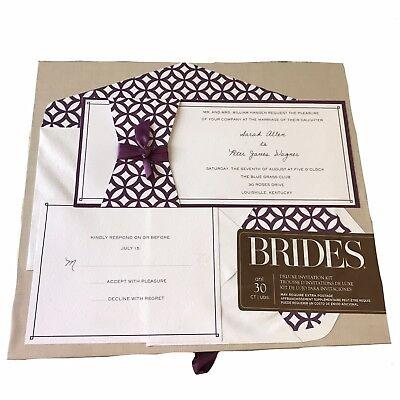 NIB Brides Any Occasion Invitation - Brides Invitation Kit