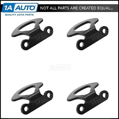 OEM Truck Bed Tie Down Hook Set of 4 Black for Ford Lincoln Styleside Models New
