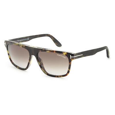 Tom Ford Men's Cecilio FT0628-55B 57 Gradient Smoke Lens (Tom Ford Sunglass)