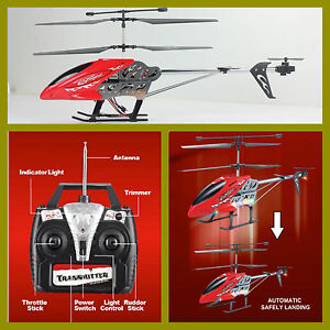 HELICOPTERO-54-cm-EFLIGHT-AUTOMATIC-LANDING-ROJO-3-5-Ch-RC-27-MHz-HELICOPTER