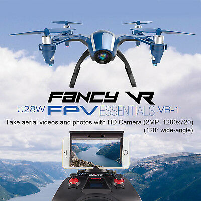 Udi U28w Rc Quadcopter Drone Wifi Fpv 2.4g 4ch Attitude Hold 720p Hd Camera Rtf