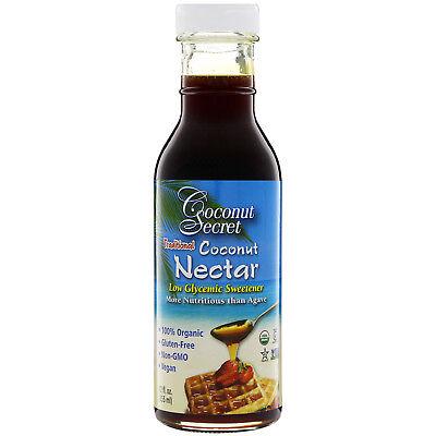 Coconut Secret  Traditional Coconut Nectar  Low Glycemic Sweetener  12 fl (Vegan Sweetener)