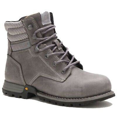 Cat Caterpillar Womens P91098 Paisley 6 Steel Toe Footwear Work Boots Shoes