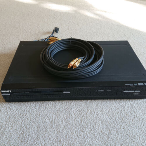 Philips DVDR3475-37 DVD Recorder/Player No Remote, Includes Video/Audio Cables