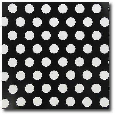 Black/White Polka Dot Wrap Paper - 30