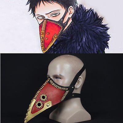 My Hero Academia Overhaul Mask Cosplay Crow Mouth Lague Doctor Halloween - Crow Halloween Mask