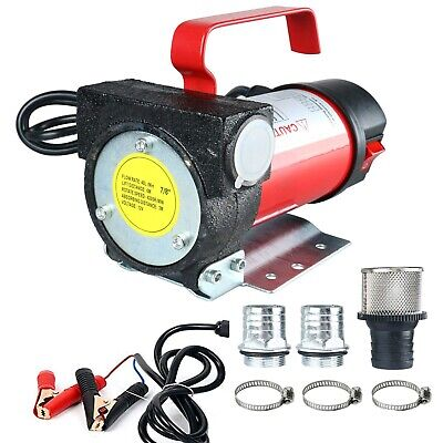 12v 10.5gpm Electric Kerosene Biodiesel Diesel Oil Fuel Transfer Extractor Pump
