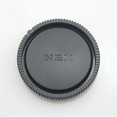 2 X SONY E-Mount NEX, ALPHA rear lens caps    UK stock