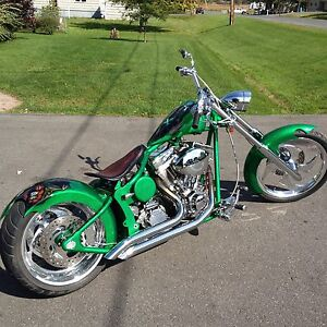2010 custom chopper for sale