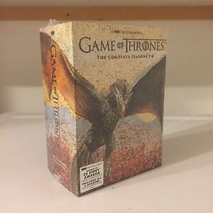 90$ New Neuf Trone de Fer Game of Thrones Dvd Set Seasons 1-6.