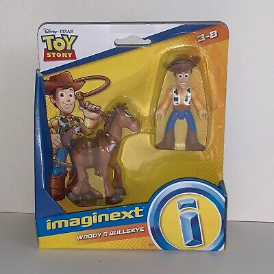 NEW Disney Pixar Toy Story 4 Imaginext Woody & Bullseye Figure Pack