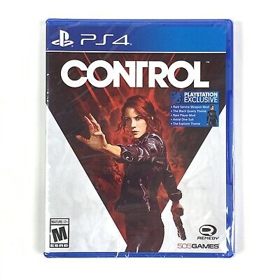 Control (PlayStation 4/PS4, 2019) Brand New/Factory Sealed