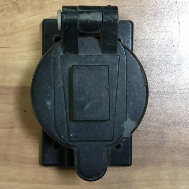 Spider Box Replacement Cover for Male 50 Amp California CS6375 - COVER ONLY