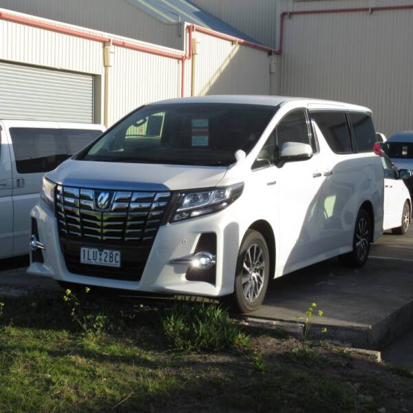 2016 Toyota Alphard Hybrid Luxury Van