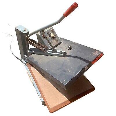 Hix Swingman H1620 20 16 X 20 Heat Press Swing Machine Transfer
