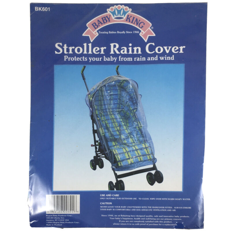 Baby King Universal Rain Cover Infant Buggy Stroller Pram Insect Mosquito Proof