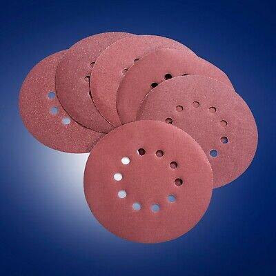 Power Pro 2100 -80100120150180240 Grit 9in 6 Sanding Discs With Vent Holes
