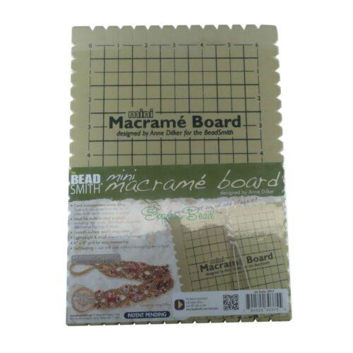 "BeadSmith Mini Macrame Board Size 7.5"" x 10"" (6""x 9"" Grid)"