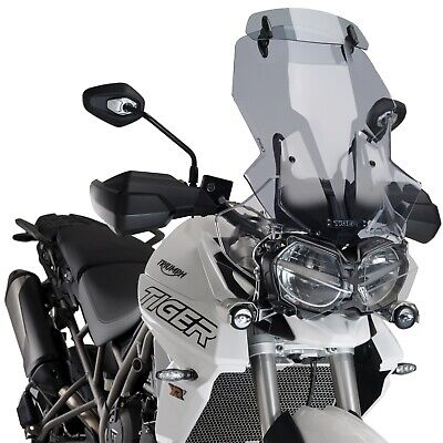 TRIUMPH TIGER 800 18 19 TOURING SCREEN WITH LIGHT TINT VISOR MOTORCYCL