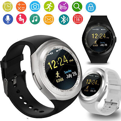 Touch Screen Bluetooth Smart Watch Wristwatch For Android Samsung Google Zte Lg