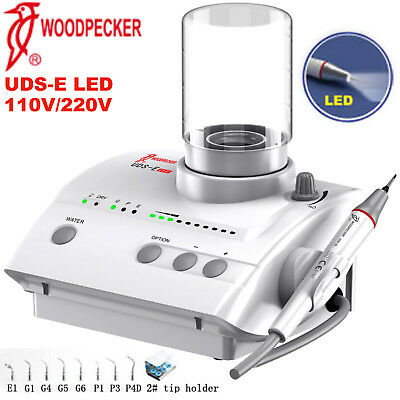 Woodpecker Uds-e Led Dental Piezo Ultrasonic Scaler Led Handpiece 110v 220v Ems