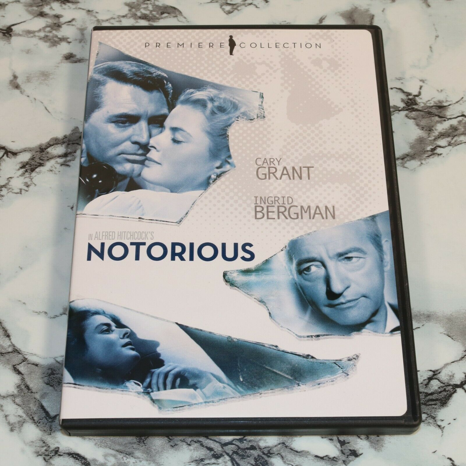 Alfred Hitchcock s Notorious - Premiere Collection DVD, 2008 -- Cary Grant - $11.93