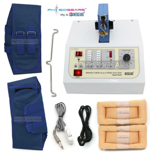 Lumbar & Cervical Traction Machine Pain Therapy,LCD Display machine