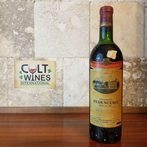 1966 Chateau Pedesclaux Pauillac Bordeaux wine, France