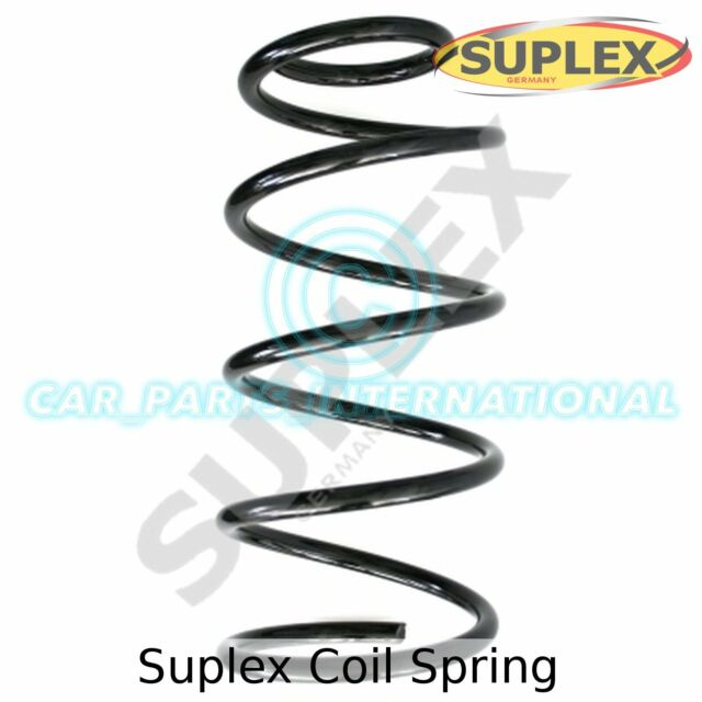 Suplex Coil Spring, Front Axle, OE Quality, 38125