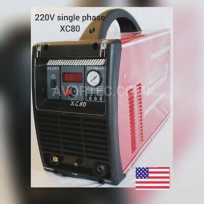 80amp Avortec Xc80 Plasma Cutter Single Phase 220vcnc Table Readytorch Ipt 80.