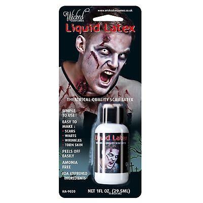 Latex Paint Halloween (Halloween Horror Liquid Latex Size 1 oz Fancy Dress Face Paint)