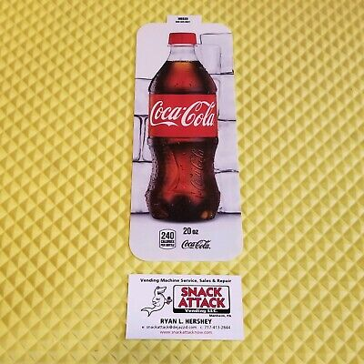 Royal Vendors Soda Vending Machine Coke 20oz Bottle Vend Label