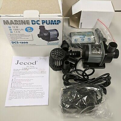 Jecod Dcs-1200 Marine Dc Pump. Brand New. Ships From The Usa W