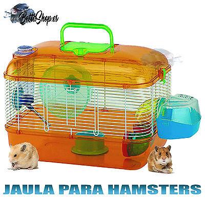 JAULAS PARA HAMSTERS JAULAS DE HAMSTERS JAULA HAMSTER ROEDORES MUY COMPLETA