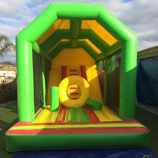 Extra Large Double Slide Castle Greensborough Banyule Area Preview
