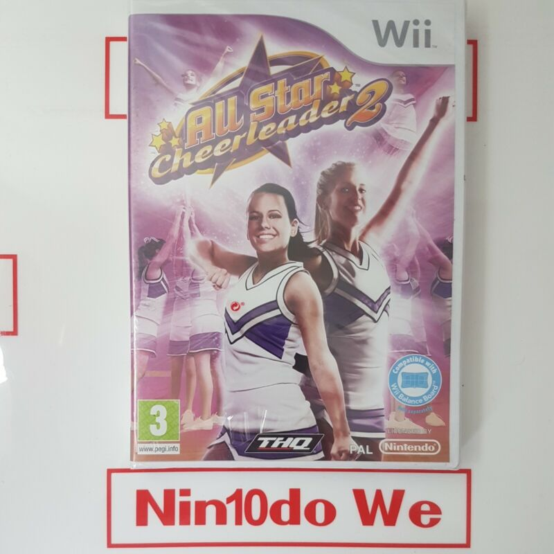 All+Star+Cheerleader+2+%28Nintendo+Wii%2C+2009%29+New+and+Sealed+